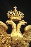 Águila doble del oro Foto de archivo