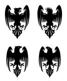Águila heráldica malvada oscura libre illustration