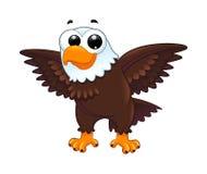 Águila joven stock de ilustración