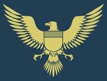 Águila medieval Fotografía de archivo
