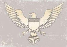 Águila medieval Imagenes de archivo