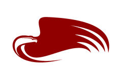 Águila potente Imagen de archivo libre de regalías