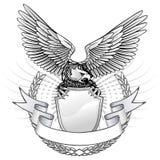 Águila salvaje coa alas Fotografía de archivo libre de regalías