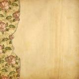 Álbum alienado para fotos com rosas pintadas Fotos de Stock Royalty Free