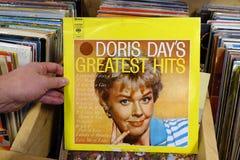 Álbum: As grandes batidas de Doris Day foto de stock