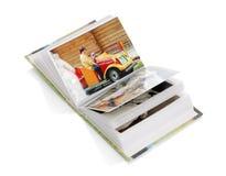 Álbum con las fotos imagen de archivo libre de regalías