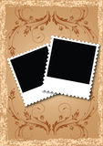 Álbum de foto da disposição de página Fotografia de Stock Royalty Free