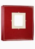Álbum de foto de cuero retro Imagen de archivo libre de regalías