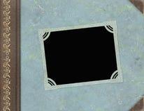 Álbum de foto de la vendimia Imagenes de archivo