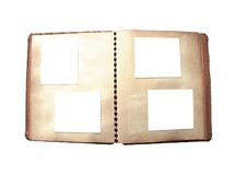 Álbum de foto de la vendimia Fotografía de archivo libre de regalías