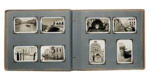 Álbum de foto de Venecia Foto de archivo