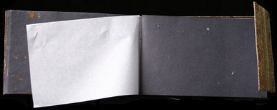 Álbum de foto vazio imagem de stock