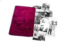 Álbum de foto viejo Imagen de archivo libre de regalías