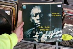 Álbum: ` De John Lee Hooker - de Moanin os azuis imagem de stock royalty free