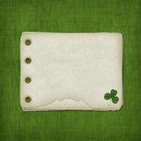 Álbum do projeto para o dia do St. Patrick Imagens de Stock Royalty Free