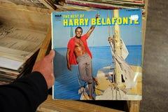 Álbum el mejor de Harry Belafonte imagen de archivo