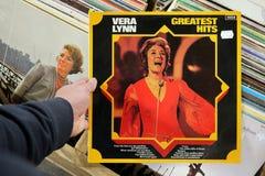 Álbum: Vera Lynn - los hit más grandes Fotos de archivo libres de regalías