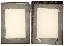 Álbum viejo. Imagen de archivo libre de regalías