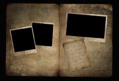 Álbum viejo Foto de archivo libre de regalías