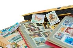 Álbuns de selos do borne Fotos de Stock Royalty Free