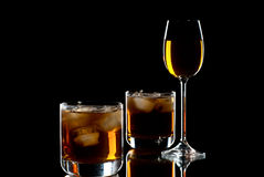 Álcool. imagens de stock royalty free