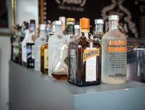 Álcool e licor fotografia de stock