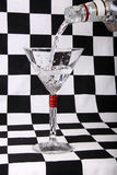 Álcool, martini Foto de Stock