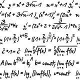 Álgebra inconsútil stock de ilustración