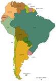 Ámérica do Sul 01 Imagem de Stock