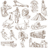 Ámérica do Sul 2 ilustração royalty free