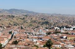 Ámérica do Sul - Bolívia, sucre imagem de stock