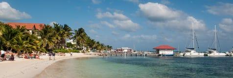 Ámbar gris Caye foto de archivo libre de regalías