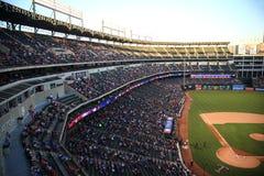 Ámbito de las Texas Rangers en Arlington fotografía de archivo