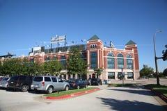Ámbito de las Texas Rangers en Arlington Imagen de archivo libre de regalías