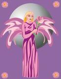 Ángel libre illustration