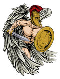 Ángel acorazado Imagenes de archivo