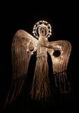 Ángel artificial de Navidad fotos de archivo libres de regalías