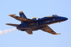 Ángel azul de marina de los E Imagenes de archivo