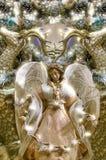 Ángel bastante festivo de la Navidad Imagen de archivo libre de regalías
