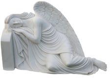 Ángel blanco del sueño Imágenes de archivo libres de regalías