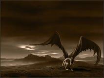 Ángel caido Foto de archivo