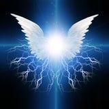 Ángel con alas libre illustration