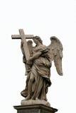 Ángel con la estatua cruzada Imagen de archivo