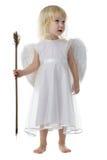 Ángel con la flecha del Cupid Imágenes de archivo libres de regalías