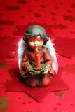 Ángel con la vela Fotos de archivo libres de regalías