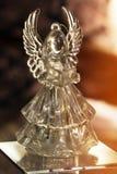 Ángel cristalino Decoración del Año Nuevo Ornamentos de la Navidad, christm Foto de archivo
