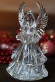 Ángel cristalino Decoración del Año Nuevo Ornamentos de la Navidad, christm Fotografía de archivo libre de regalías