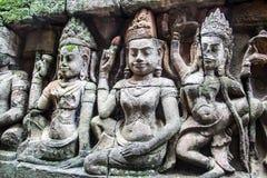 Ángel de Angkor Fotografía de archivo