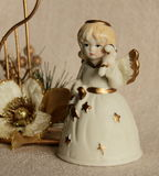 Ángel de cerámica Fotos de archivo libres de regalías