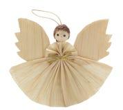 Ángel de la cáscara de maíz Fotografía de archivo libre de regalías